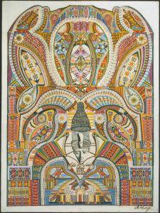 La tête de déesse